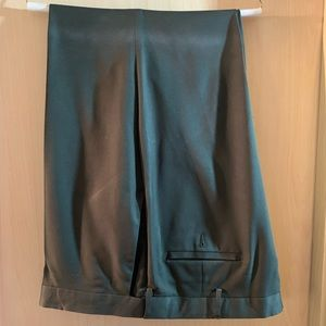 Haggar olive green dress slacks